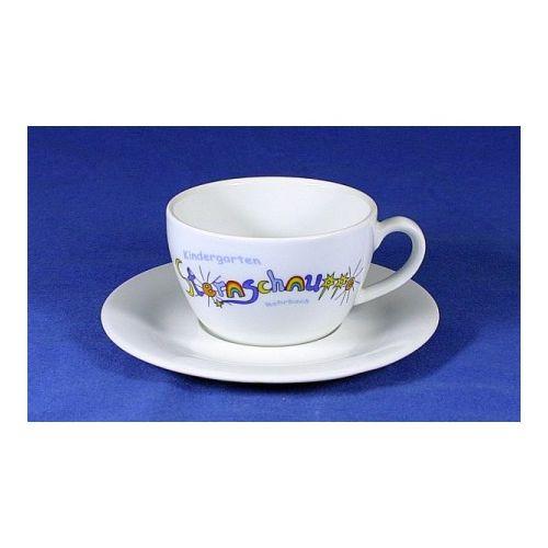 Porzellan Tasse Cappuccino