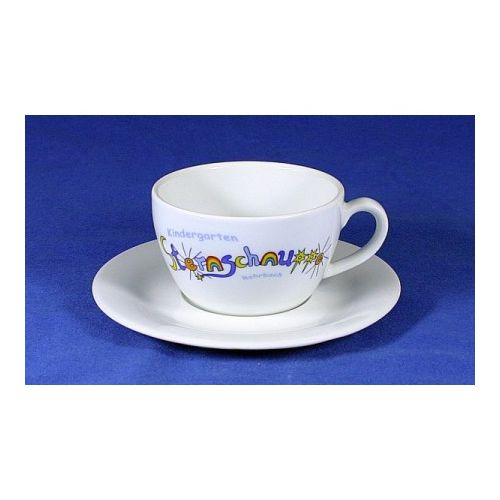 Porzellan Tasse Untertasse