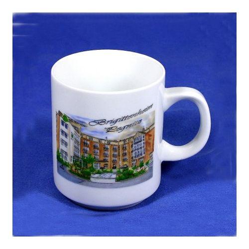 Tasse, Porzellan, Kaffeebecher stapelbar 7,9 x 9,5 cm