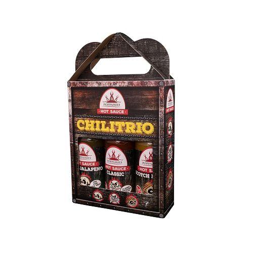 Poppamies Chilitrio 3-pack