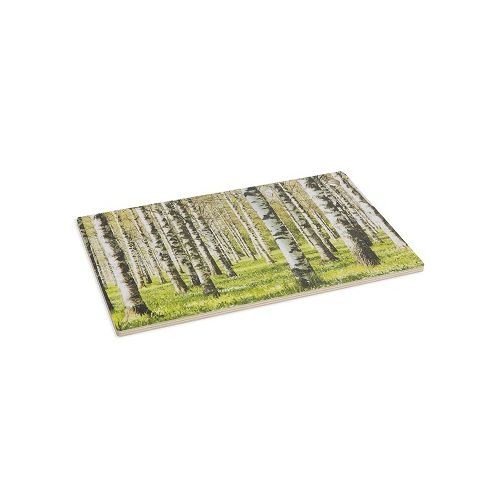 Koivumetsä leikkuulauta vihreä 35x22 cm