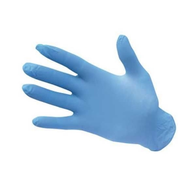 Boîte de 30 gants en nitrile à Usage Unique