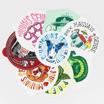 Stickers personnalisé - ISOCOM - OBJETS ET TEXTILES PERSONNALISES - NANTES