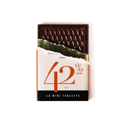 Mini Tablette 30g 42% Lacté PERSONNALISABLE
