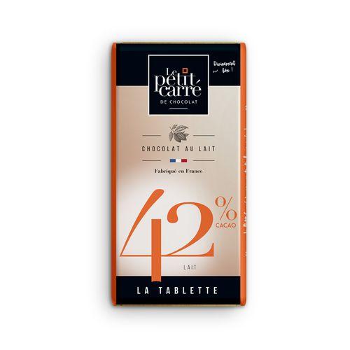 Tablette 90gr 42% Lacté PERSONNALISABLE