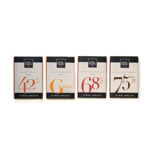 Tablette 90gr 75% Tanzanie PERSONNALISABLE