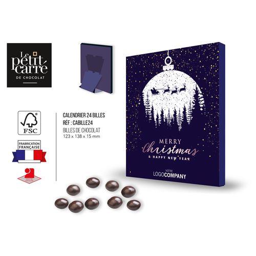 Calendrier de l'Avent Billes de chocolat