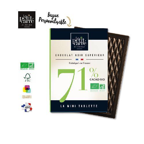 Mini Tablette 30g 71% Bio