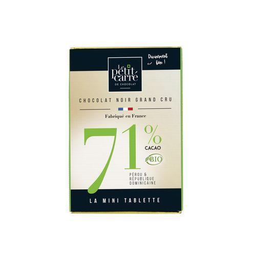 Mini Tablette 30g 71% Bio PERSONNALISABLE
