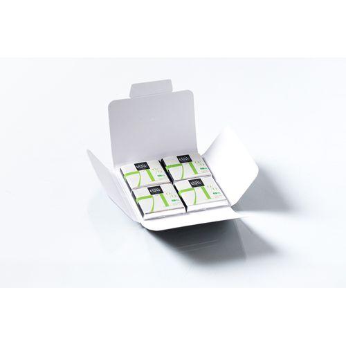 Carte 4 carrés Bio Personnalisé