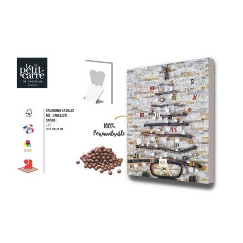 Calendrier de l'Avent Billes de chocolat Lait
