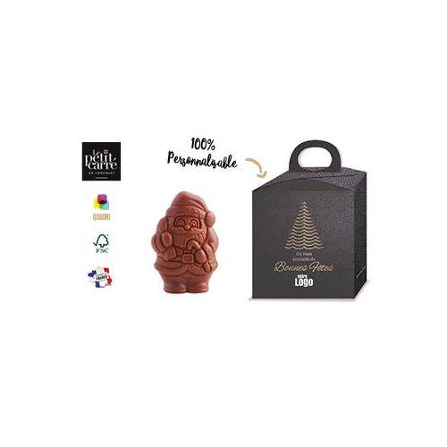 Moulage Père Noël 50g chocolat au lait 41% Bio