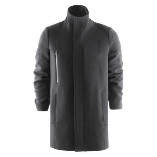 Hybrid Wool Coat
