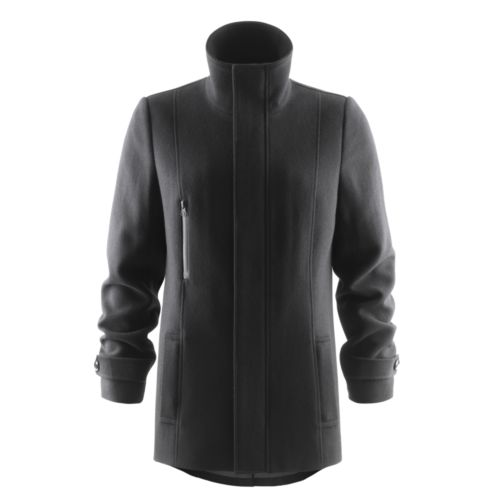 Hybrid Wool Coat Woman